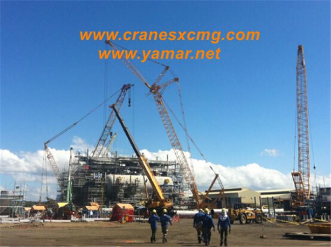 XCMG cranes build refinery in Philippine