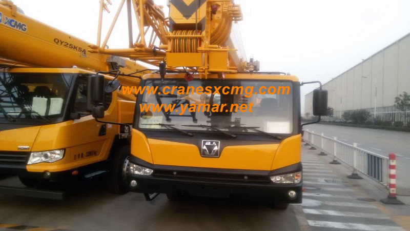 XCMG truck crane QY25K5A price