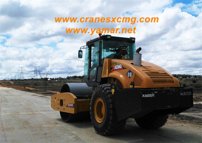 XCMG CE approved Road roller export to U.K