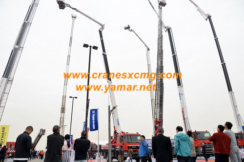 XCMG Firefighting equipment in Beijing