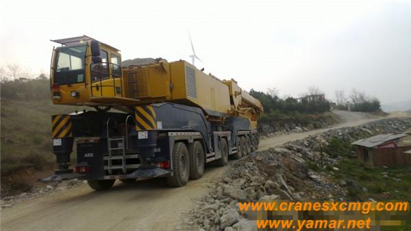 XCMG 650 ton all terrain crane QAY650 (1)