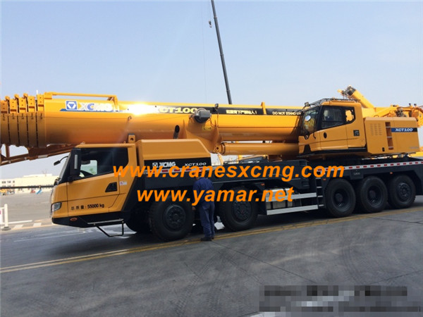 XCMG 100 ton new type truck crane XCT100