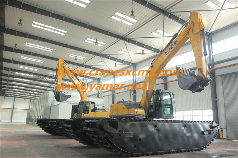 XCMG Amphibious Excavator (2)