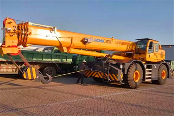 XCMG rough terrain crane export to South Asia