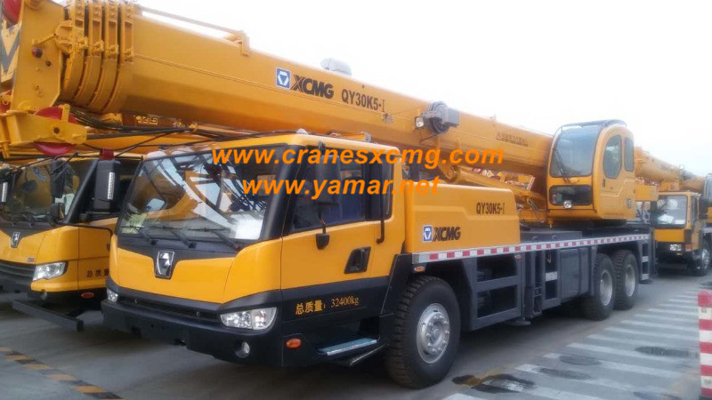 XCMG truck crane QY30K5-I price