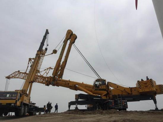 XCMG QAY800 All terrain crane (2)