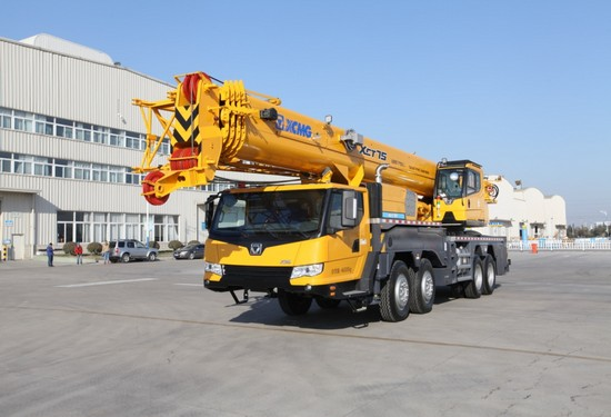 XCT75 truck crane