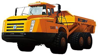 XCMG articulated dump truck