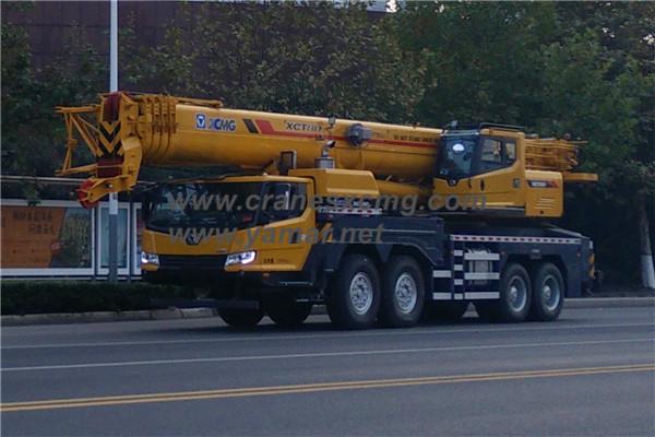 XCMG 80 ton truck crane XCT80 (2)