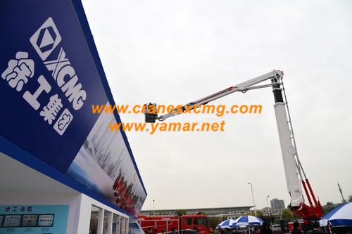 XCMG Firefighting truck in Beijing