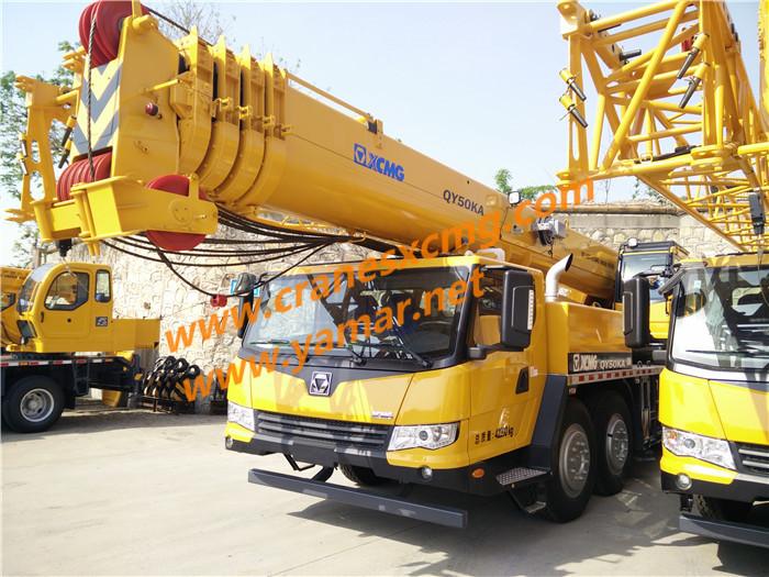 XCMG 50 ton truck crane QY50KA