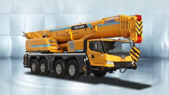 XCMG XCA100E all terrain crane