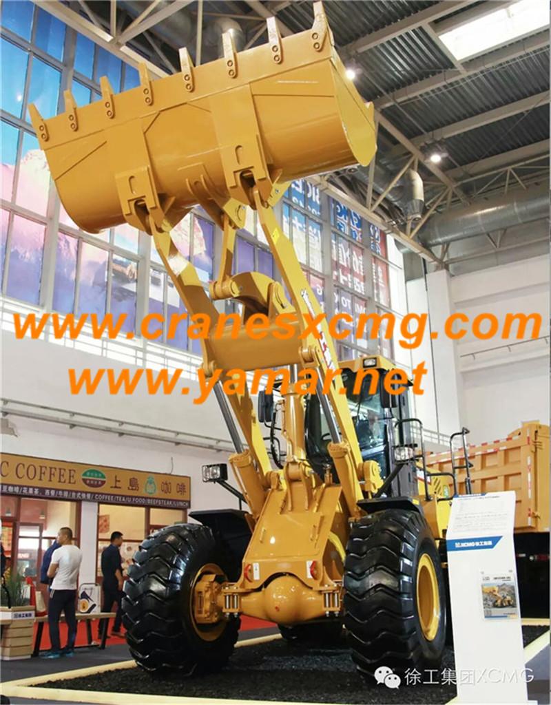 XCMG 5 ton wheel loader LW500KN-LNG
