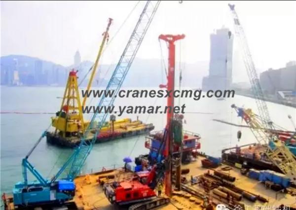 XCMG rotary drilling rig in Hongkong