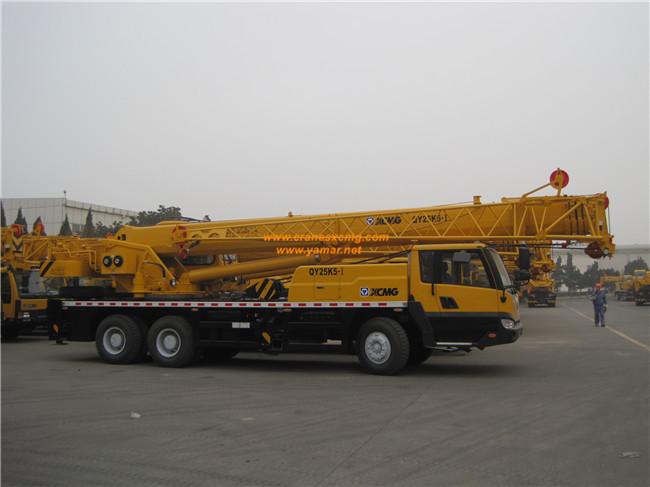 XCMG 35 units truck cranes export to Saudi Arab