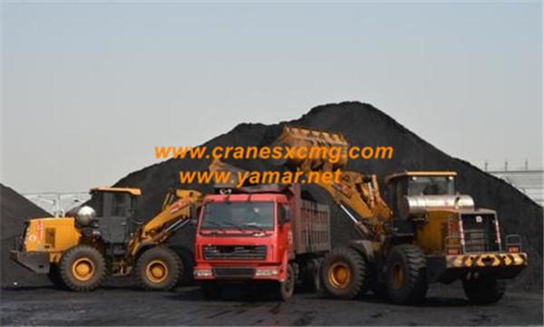 XCMG 8 ton wheel loader LW800K LNG model (1)