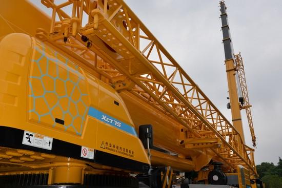 XCMG XCT truck crane models
