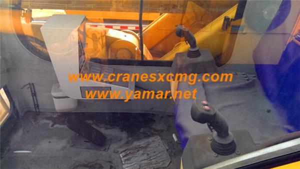 XCMG 65 ton used truck crane QY65K cab