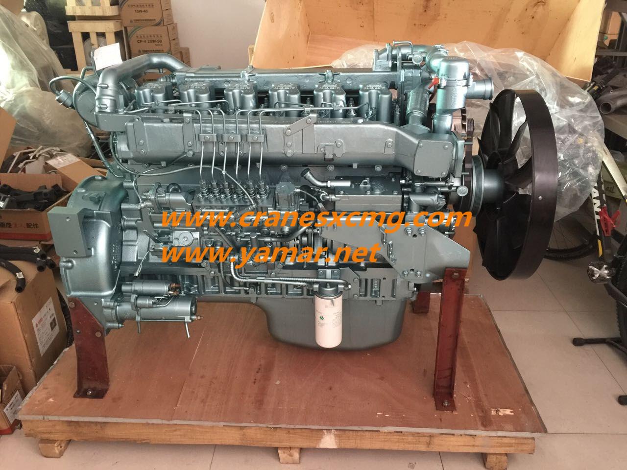 XCMG truck crane engine WD615.338