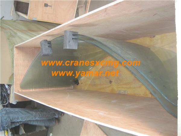 XCMG truck crane cab glass