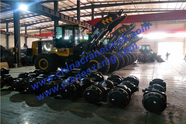 Customer order ZL50GN wheel loader axles
