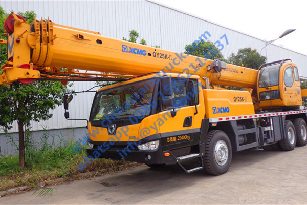 We export XCMG 25 ton truck crane QY25K-II