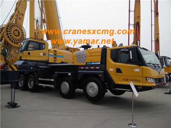 XCMG 130 ton truck crane XCT130-2