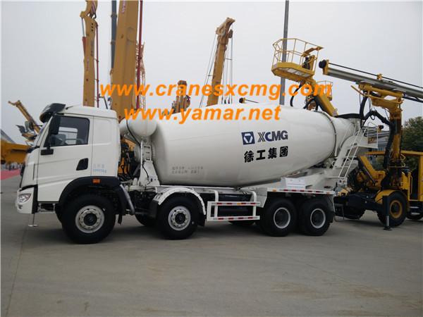 XCMG concrete mixer truck in fair
