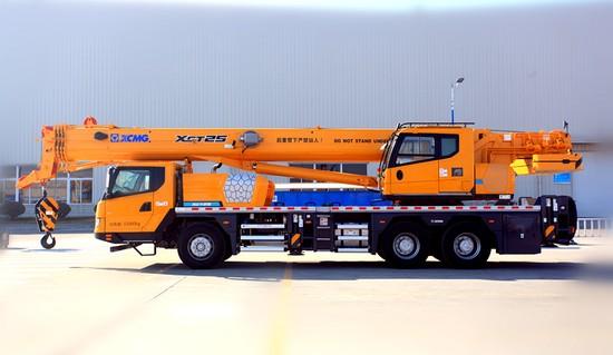 XCMG 25 ton truck rane XCT25L5 (1)