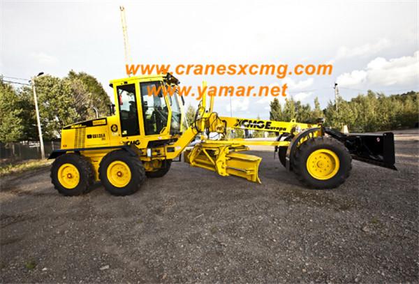 XCMG motor grader export to Saudi Arab