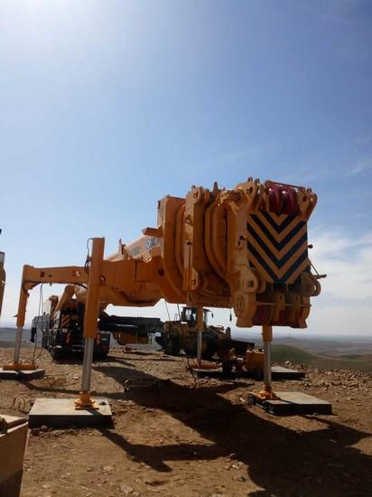XCMG QAY800 All terrain crane