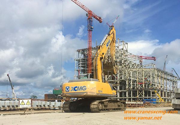 XCMG excavator in Malaysia