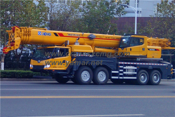 XCMG 80 ton truck crane XCT80 (3)