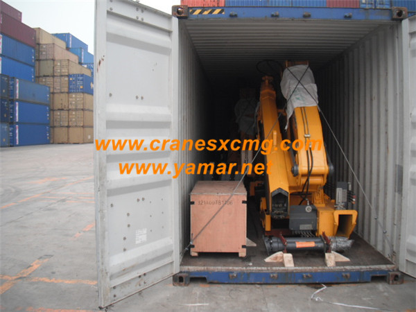 SQ6.3ZK2Q truck-mounted crane container