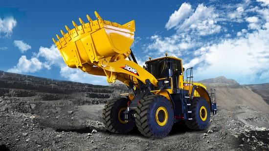 XCMG 8 ton wheel loader LW800KN in Bauma
