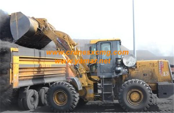 XCMG 8 ton wheel loader LW800K LNG model (2)