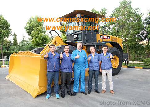 XCMG 9 ton wheel bulldozer