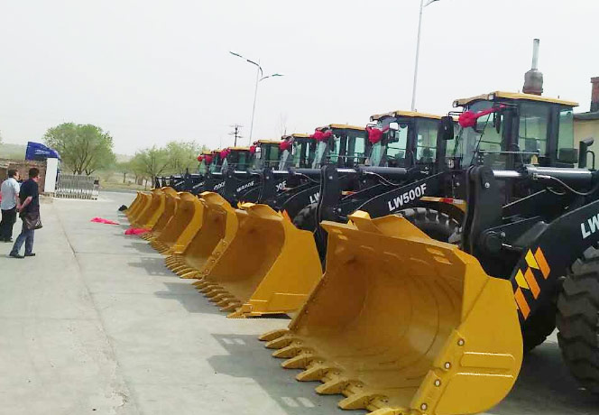 XCMG LW500FV wheel loader