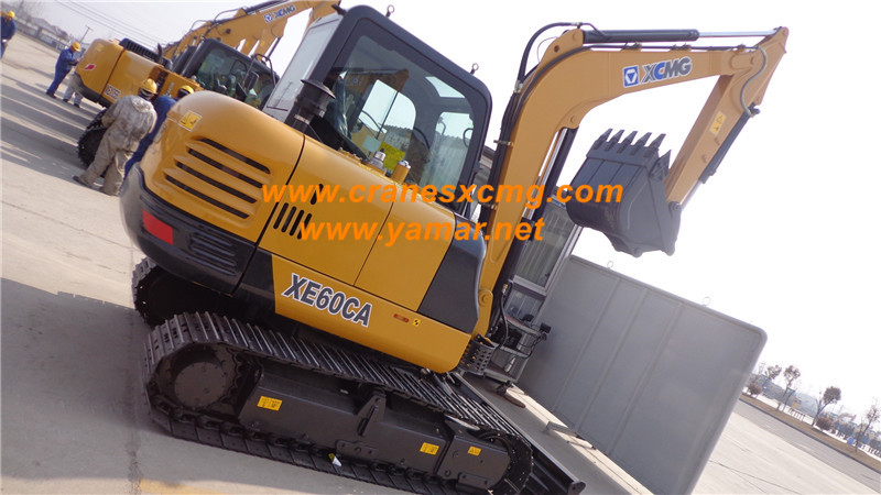 XCMG mini excavator XE60CA