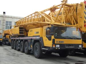 supply XCMG 160 ton All Terrain Crane QAY160 from Changzhou Yamar