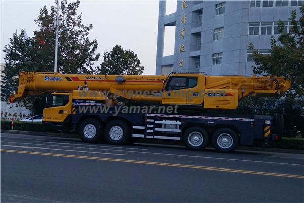 XCMG 80 ton truck crane XCT80 (4)
