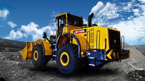 XCMG 11 ton wheel loader LW1100KN in Bauma