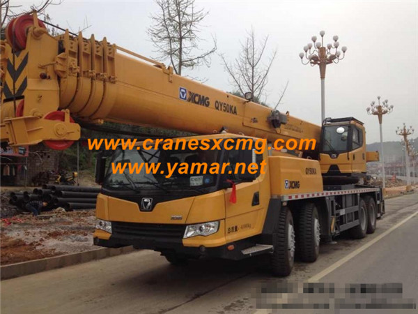 export XCMG 50 ton truck crane QY50KA (1)