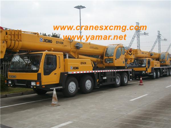 XCMG truck crane QY40K export Argentina