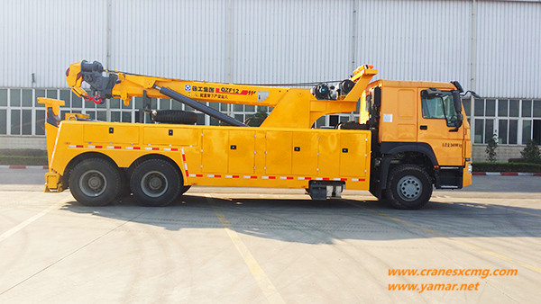 XCMG wrecker for Kenya