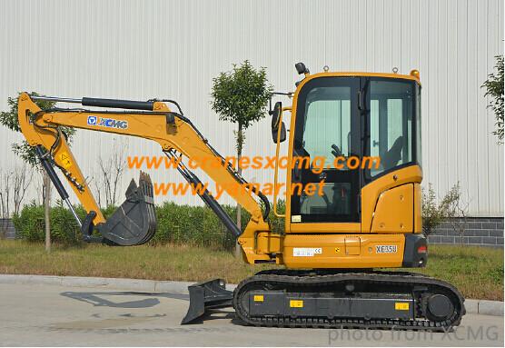 XCMG small tailless crawler excavator XE35U