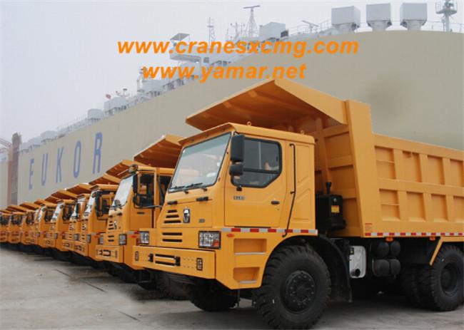 XCMG big dump truck export to Nigeria