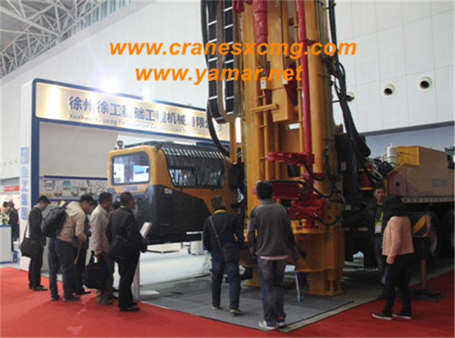 XCMG XSZ2000 deep drilling rig in International Mining Show