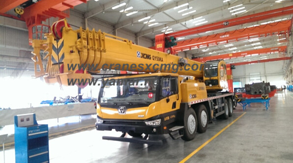 XCMG 50 ton truck crane model QY50KA price