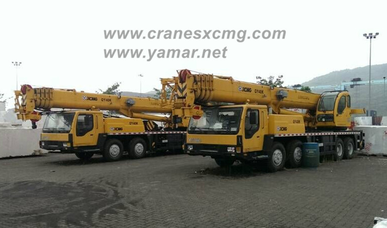 XCMG used 40 ton truck crane QY40K on sale